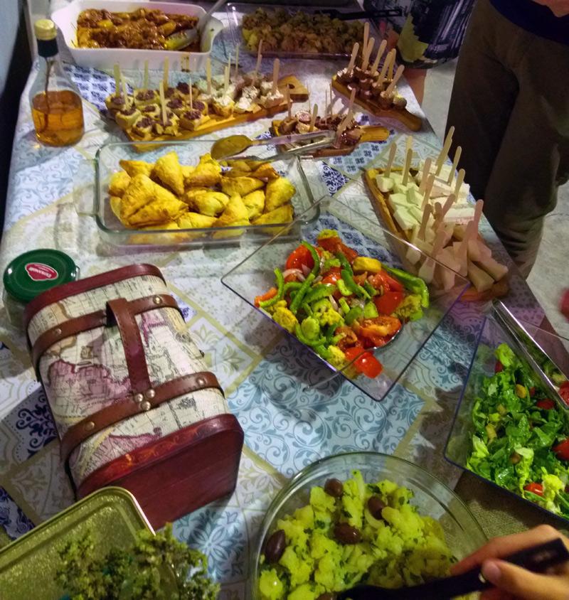 Greek local food